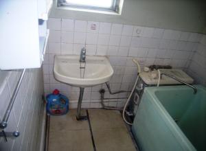 お風呂内洗面所
